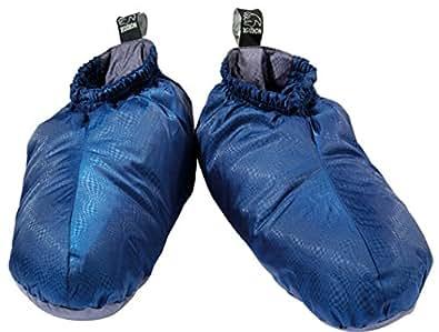 Nordisk Chaussettes duvet bleu-anthracite (Taille cadre: XS)