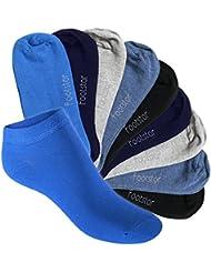 Footstart - Lot de 10 paires de socquettes de sport SNEAK IT! - qualité celodoro - enfant - différents coloris et tailles 23 à 34