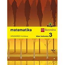 Matematika. Lehen Hezkuntza 3. Bizigarri  - Pack de 3 libros - 9788498553079