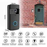 BeesClover Türklingel, kabellos, Bluetooth, für Smart-Kameras, Telefonsprechanlage für Zuhause