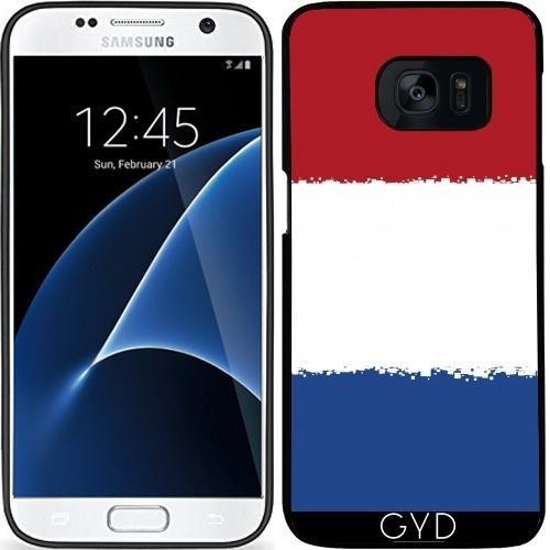 Custodia in silicone per Samsung Galaxy S7 (SM-G930) - Paesi Bassi 8 Bit by Cadellin