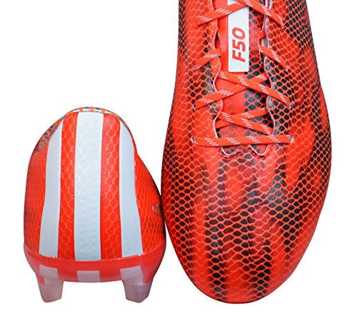 Adidas F50 Adizero Firm Ground, Chaussures de Football Homme Rouge