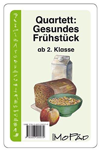 Quartett: Gesundes Frühstück: 2. bis 4. Klasse