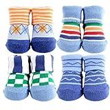 Best Luvable Friends Friends Gift Sets - Luvable Friends 4-Piece Boy Novelty Socks Gift Set Review