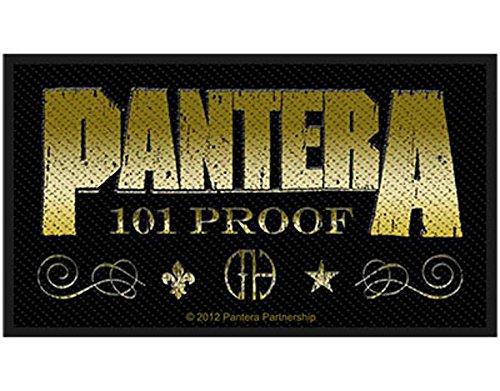 Pantera - 101 Proof - Whiskey Label - Toppa/Patch - SPEDIZIONE GRATUITA