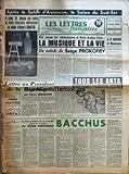 Telecharger Livres LETTRES FRANCAISES LES No 396 du 10 01 1952 APRES LE SALON D AUTOMNE LE SALON DU SUD EST A LYON M BAYLOT FAIT ECOLE ET TROIS FASCISTES DETRUISENT LE BUSTE D HENRI MARTIN LETTRE AU PRESIDENT DE LA REPUBLIQUE PAR PIERRE ABRAHAM UNE DECLARATION D HENRI MATISSE SUR HENRI MARTIN ET UN PORTRAIT D HENRI MARTIN PAR JEAN LURCAT UN COUP DE TELEPHONE A SALT LAKE CITY LA MUSIQUE ET LA VIE PAR SERGE PROKOFIEV J P DAVID ET HACHETTE N AURONT PAS RAISON DES LETTRES FRANCAISES PAR REGIS BERGEON (PDF,EPUB,MOBI) gratuits en Francaise