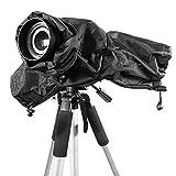 Ailiebhaus Regenschutzhaube Kamera Regenschutzhülle Rain Cover für Canon Nikon und andere digitale DSLR -Kameras