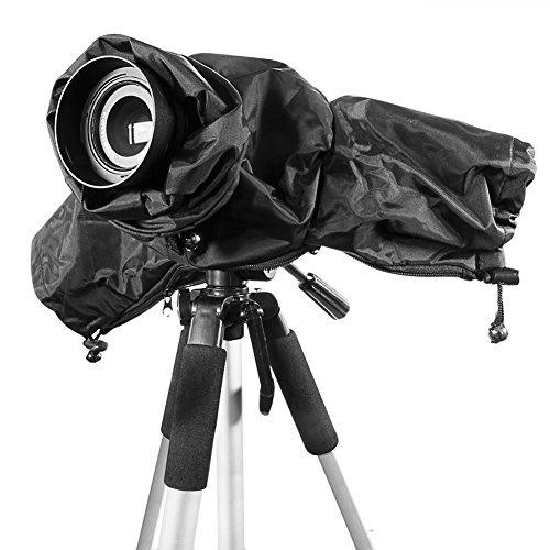 Ailiebhaus anti-pluie Housse de protection imperméable rain Cover pour appareil photo Canon Nikon et autres appareils photo DSLR - numériques