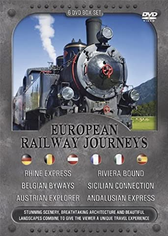 European Railway Journeys DVD Box