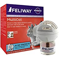 FELIWAY Classic 30 day starter kit. Diffuser and Refill. Comforts cats and helps solve behavioural issues in the home  - 48ml