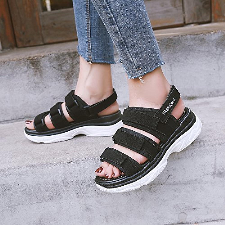 GAOLIM Schuhe Sandalen Sommer Schuh Und Vielseitige Soft Schwester Schuhe Studentinnen.