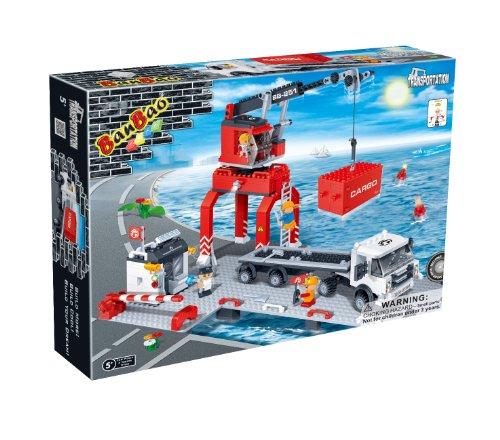Preisvergleich Produktbild Bausteine kompatibel Verladehafen BanBao 8766