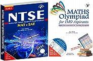 NTSE + Maths Olympiad Combo (Set Of 2 Books)