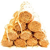 75 Natural Long Lasting Firelighters: Fire Brand Eco Friendly Fire Starters for stoves, Fire pits, and grills