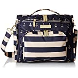 Ju-Ju-Be Legacy Nautical Collection B.F.F. Convertible Nappy Changing Bag/ Rucksack/ Messenger/ Tote (The Commodore)