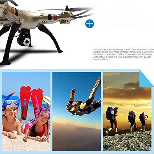 Syma X8HW (aggiornamento del popolare Syma X8W) 2.4GHz 6-Axis Gyro Wifi FPV con la macchina fotografica HD RC Quadcopter Drone (X8HW) - 8