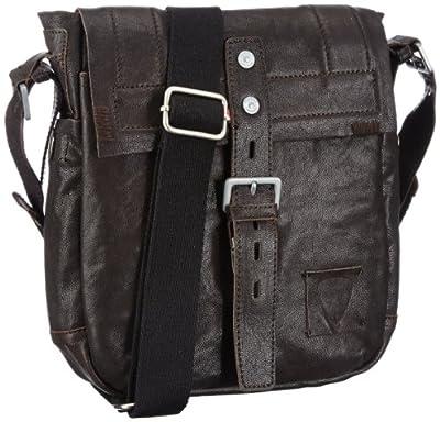 Strellson 02/82/10010-860 - Bolsa al hombro de cuero para hombre