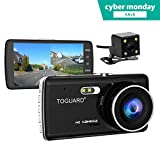 TOGUARD Dual Lens Dash Cam front and rear - Best Reviews Guide