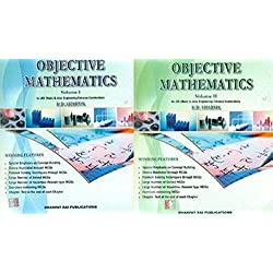 Objective Mathematics for JEE (Main & Advanced) And Other Engineering Entrance Examinations - ( Volume 1 & 2)