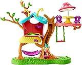 Enchantimals Coffret La Maison du Papillon, mini-poupée Baxi et figurine animale Wingridavec ascenseur et accessoires, jouet pour enfant, GBX08...