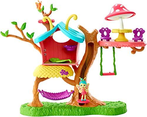 Enchantimals - Casita del árbol Baxi Butterfly, casa de muñecas (Mattel GBX08)