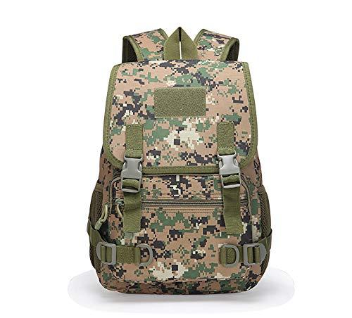 Fjiujin,Schule militärische Ausbildung Paket Armee Fan Outdoor Camping taktische Rucksack CS reale Person Ausrüstung Tarnung Schultasche(color:Eine Größe,size:Dschungel digital) -