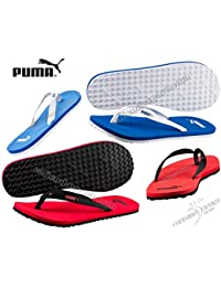 0affd6e2209e Puma Men s Flip Flops 360647 Sun Flip Light Blue White Red Black Sea  Swimming Pool Shower