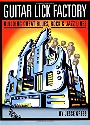 Guitar Lick Factory: Building Great Blues, Rock & Jazz Lines: Great Blues, Rock and Jazz Lines by Jesse Gress (30-May-2003) Paperback