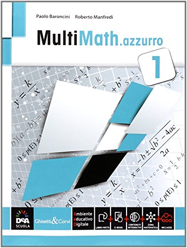 Multimath azzurro. Per le Scuole superiori. Con e-book. Con espansione online: 1