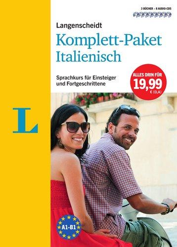 Langenscheidt Komplett-Paket Italienisch - 3 Bücher mit 8 CDs: Der Sprachkurs für Einsteiger und Fortgeschrittene