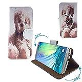 Doogee Y6 Max/ 3D Smartphone Tasche / Schutzhülle mit 360° Dreh und Standfunktion - 360° Bär 1 Nano XXL *