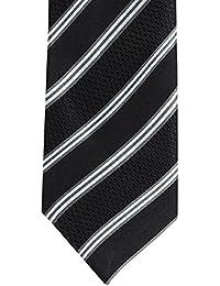 Alvaro Castagnino Black::Grey Colored Necktie for Men