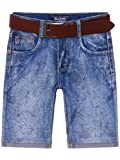 BEZLIT Kinder Jungen Jeans Shorts inkl Gürtel 22674 Größe 116