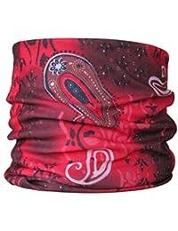 Multifunctional Headwear Red Paisley