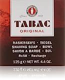 Tabac Original homme/men, Rasierseife Nachfüller 125 g, 1er Pack (1 x 125 g)