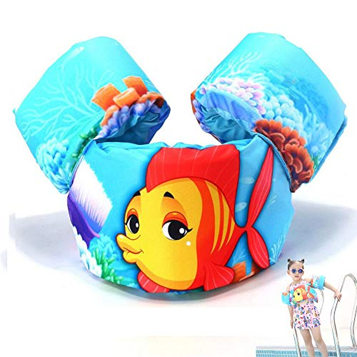 LLFFDC Schwimmflügel Puddle Jumper, für Kinder und Kleinkinder von 2-6 Jahre, 14-25kg, Schwimmhilfe für Jungen und Mädchen,5