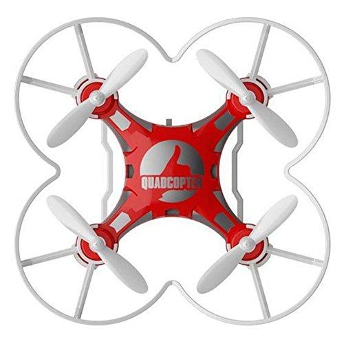 Frame Mini Anhänger (Zantec Kinder Spielzeug Pocket Drone mit Fernbedienung Sender Mini Quadcopter RC Hubschrauber rot)