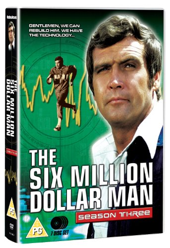 Six Million Dollar Man Season Three [DVD] [Import anglais]