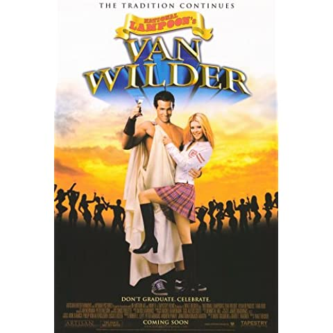 National Lampoon de Van Wilder Póster de película 27x 40en–69cm x 102cm Ryan Reynolds Tara Reid Tim Matheson Kal Teck Penn Holmes Daniel