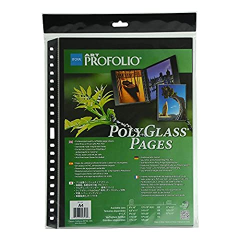 Itoya Polyglass Refill Pgs 8.3X11.7 A4 Pk/10