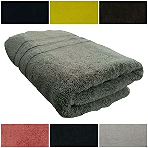 Nothing Beyond Ultra-Plush Highly Durable Towels, Color- Liquid Aluminium.