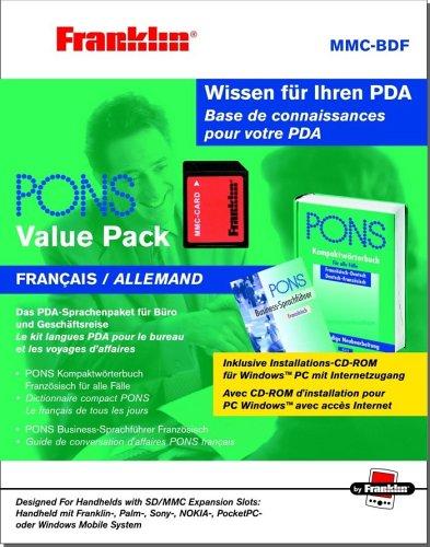 Franklin PONS Kompaktwörterbuch Deu/Fra auf MMC-Card