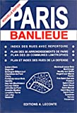 Plan de ville : Paris banlieue