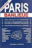 Plan de ville - Paris banlieue