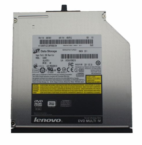LENOVO UJ8C2 ThinkPad Ultra DVD Burner 9.5mm Slim Drive -