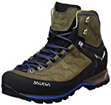 Salewa Ms Mtn Trainer Mid L, Botas de Senderismo Hombre, Marrón/Azul (Walnut/Royal Blue 2714), 43