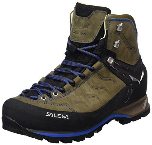 Salewa Herren Ms Mtn Trainer Mid L Trekking-& Wanderstiefel Braun (Walnut/Royal Blue 2714)