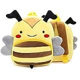 #7: Forberesten Kids Backpack Boys Girls Kindergarten School Bag Cute Animal Style Backpack for Outdoor Sports Camping Picnic( Bee)