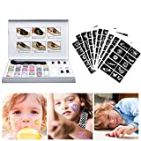 Glitter-Tattoo-Set,Temporäre Tattoos Make Up Glitzer Körper Schminkset Glitzer für Kinder Teenager Erwachsene, mit 24 Farben der Glitzer, 5 Flaschen Kleber, 1 Flasche Sauberes Wasser, 120 Tattoo Schablonen