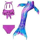 Hejin SPEEDEVE Coda da Sirena Bambina Bikini Costume da Bagno